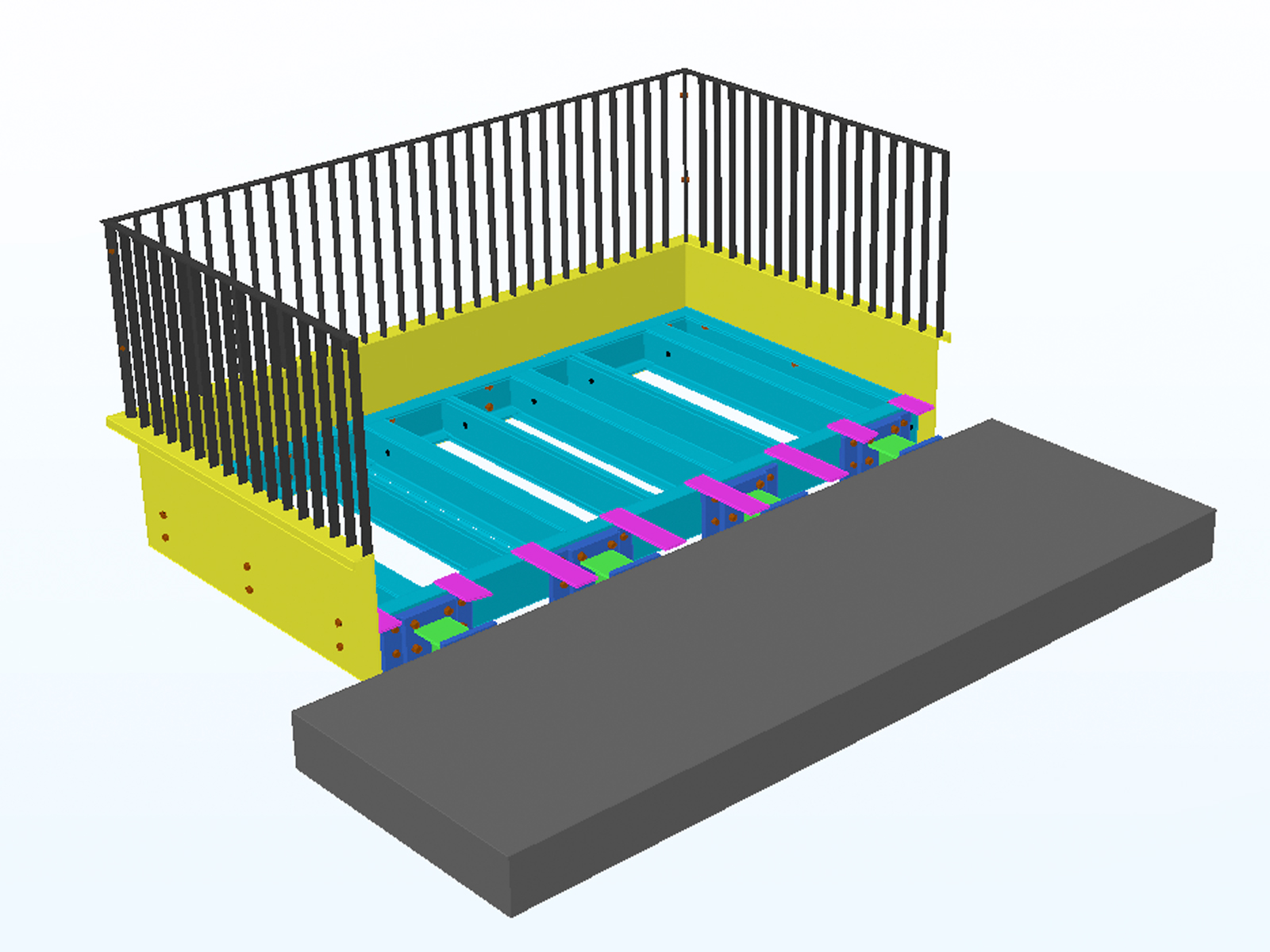 Balcony Structural Design Lally Chartered Engineers, Mayo, Ireland