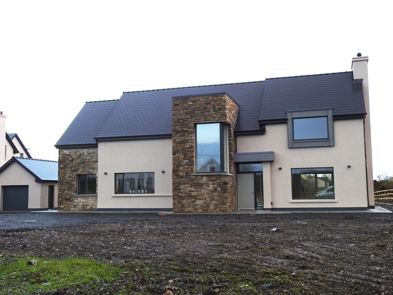 Lally Engineering Structural Supervision - house build, Galway, Ireland